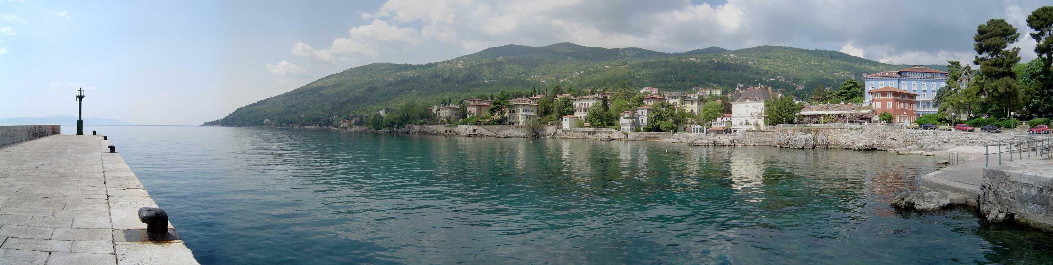 Lovran Croatia  City pictures : Croatia Part One From the Slovenia border to Split