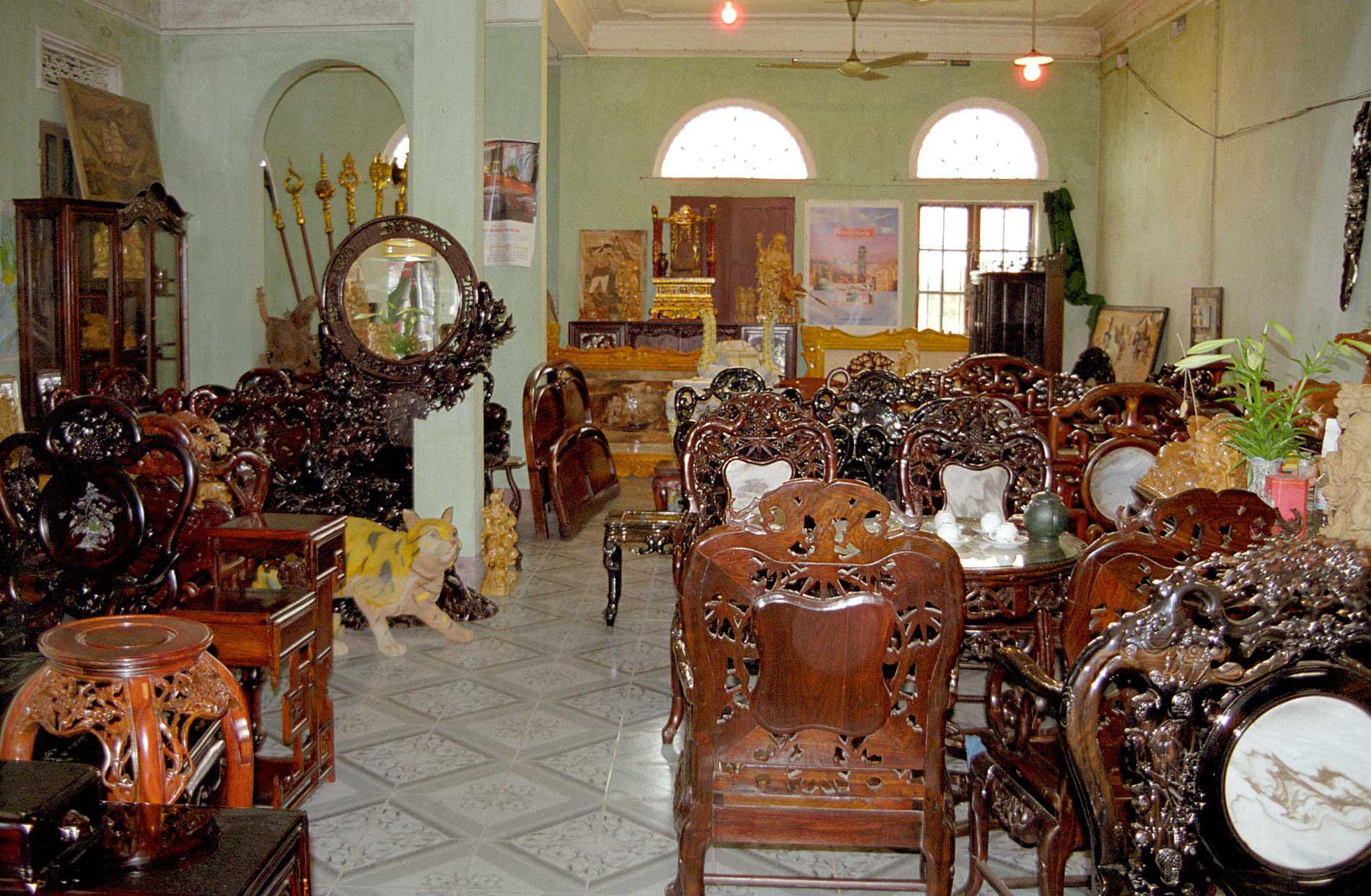 Template for Vietnam furniture